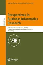 Perpectives in Business Informatics Research (Lecture Notes in Business Information Processing, nr. 261)
