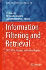 Information Filtering and Retrieval (Studies in Computational Intelligence, nr. 668)