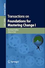 Transactions on Foundations for Mastering Change I (Lecture Notes in Computer Science, nr. 9960)