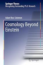 Cosmology Beyond Einstein (Springer Theses)