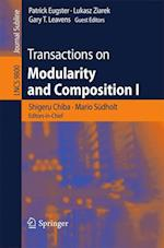 Transactions on Modularity and Composition (Lecture Notes in Computer Science, nr. 9800)