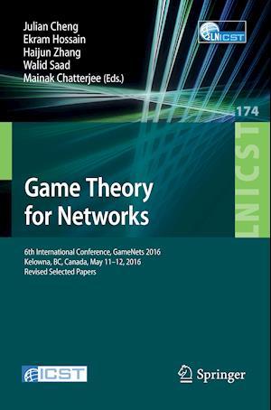 Bog, paperback Game Theory for Networks af Julian Cheng