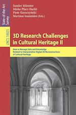 3D Research Challenges in Cultural Heritage II (Lecture Notes in Computer Science, nr. 10025)