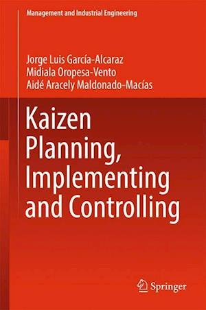 Bog, hardback Kaizen Planning, Implementing and Controlling af Midiala Opopesa Vento