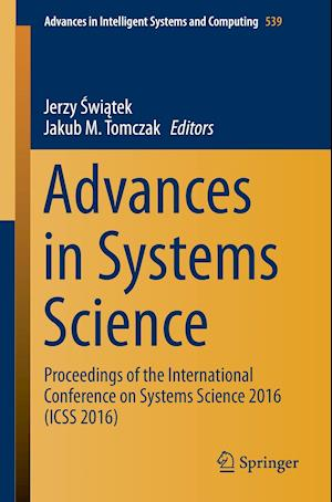 Bog, paperback Advances in Systems Science af Jerzy Swiatek