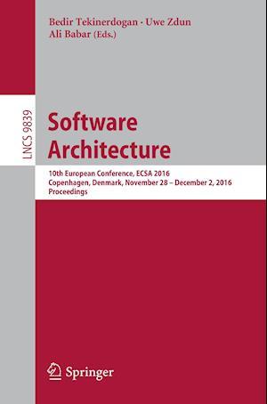 Bog, paperback Software Architecture af Bedir Tekinerdogan