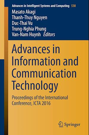 Bog, paperback Advances in Information and Communication Technology af Masato Akagi