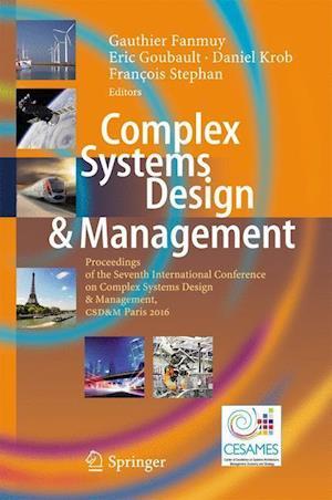 Bog, hardback Complex Systems Design & Management af Gauthier Fanmuy