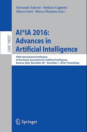 Bog, paperback Ai*Ia 2016 Advances in Artificial Intelligence af Giovanni Adorni
