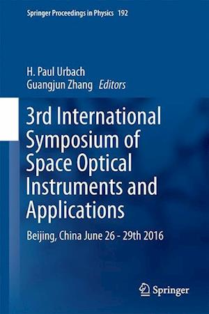 Bog, hardback 3rd International Symposium of Space Optical Instruments and Applications af H. Paul Urbach