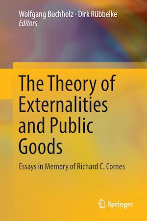 Bog, hardback The Theory of Externalities and Public Goods af Wolfgang Buchholz