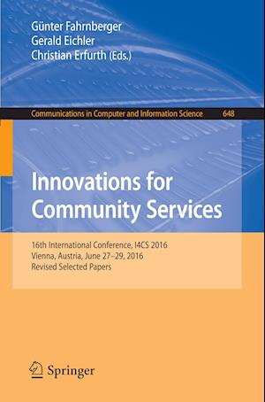 Bog, paperback Innovations for Community Services af Gunter Fahrnberger