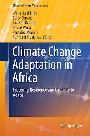 Bog, hardback Climate Change Adaptation in Africa af Walter Leal Filho
