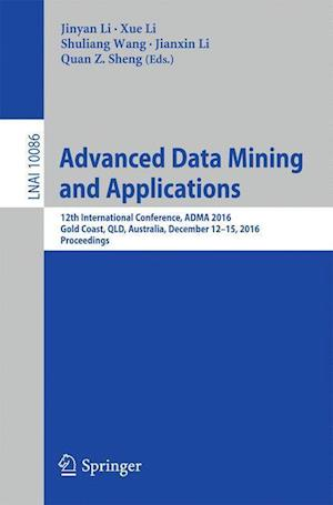 Bog, paperback Advanced Data Mining and Applications af Jinyan Li