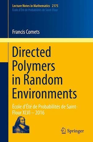 Bog, paperback Directed Polymers in Random Environments af Francis Comets