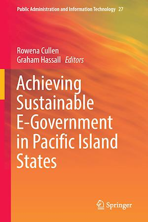 Bog, hardback Achieving Sustainable E-Government in Pacific Island States af Rowena Cullen