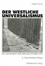 Der westliche Universalismus af Sibylle Tonnies