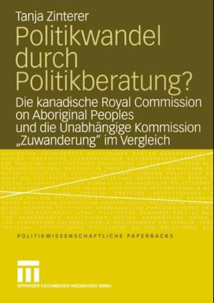 Politikwandel durch Politikberatung? af Tanja Zinterer