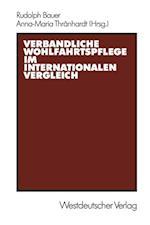 Verbandliche Wohlfahrtspflege im internationalen Vergleich af Rudolph Bauer