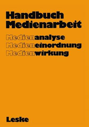 Handbuch Medienarbeit af Gerd Albrecht