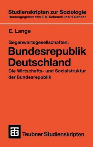 Gegenwartsgesellschaften: Bundesrepublik Deutschland