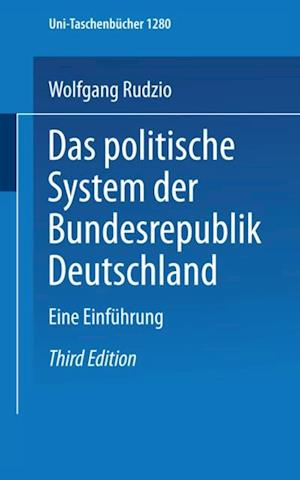 Das politische System der Bundesrepublik Deutschland af Wolfgang Rudzio