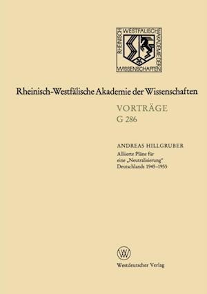 Geisteswissenschaften af Andreas Hillgruber