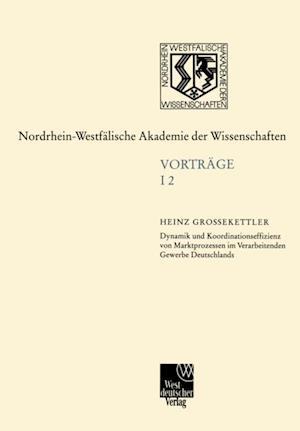 Ingenieur- und Wirtschaftswissenschaften af Heinz Grossekettler