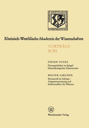Florengeschichte im Spiegel blutenokologischer Erkenntnisse af Stefan Vogel