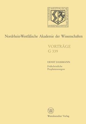 Nordrhein-Westfalische Akademie der Wissenschaften af Ernst Dassmann