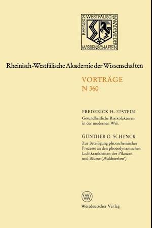 Rheinisch-Westfalische Akademie der Wissenschaften af Frederick H. Epstein