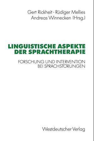Linguistische Aspekte der Sprachtherapie