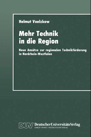 Mehr Technik in die Region af Helmut Voelzkow
