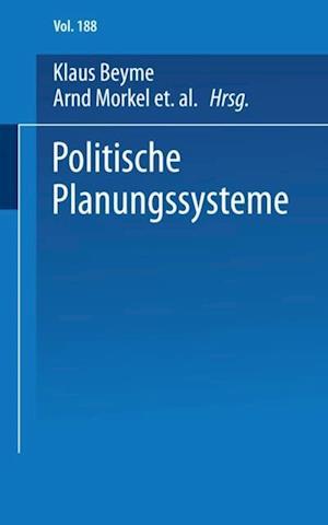 Politische Planungssysteme