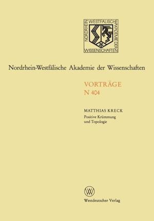 Positive Krummung und Topologie af Matthias Kreck