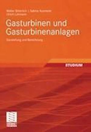 Gasturbinen und Gasturbinenanlagen af Walter Bitterlich