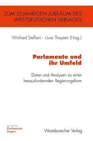 Parlamente und Ihr Umfeld af Winfried Steffani