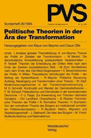 Politische Theorien in der Ara der Transformation