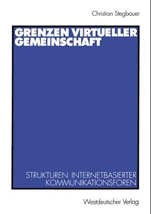 Grenzen virtueller Gemeinschaft af Christian Stegbauer