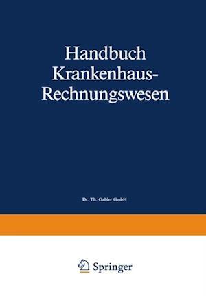 Handbuch Krankenhaus-Rechnungswesen af Siegfried Eichhorn
