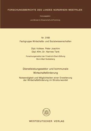 Dienstleistungssektor und kommunale Wirtschaftsforderung af Peter Joachim