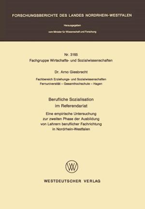 Berufliche Sozialisation im Referendariat af Arno Giesbrecht