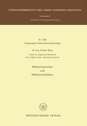 Methanolpyrolyse und Methanoloxidation af Gunter Berg