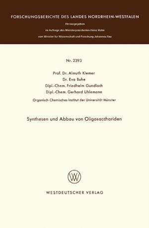Synthesen und Abbau von Oligosacchariden