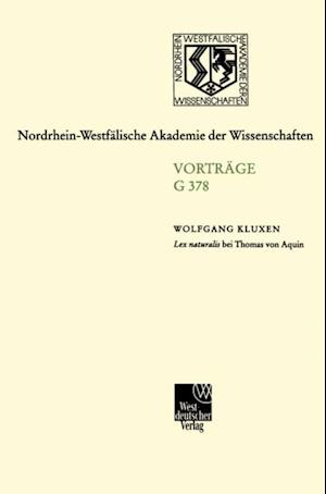 Lex naturalis bei Thomas von Aquin af Wolfgang Kluxen