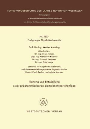 Planung und Entwicklung einer programmierbaren digitalen Integrieranlage af Walter Ameling