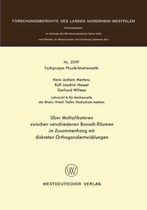 Uber Multiplikatoren zwischen verschiedenen Banach-Raumen af Hans-Jochem Mertens