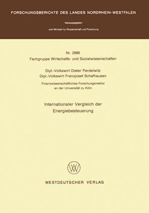 Internationaler Vergleich der Energiebesteuerung af Dieter Perdelwitz