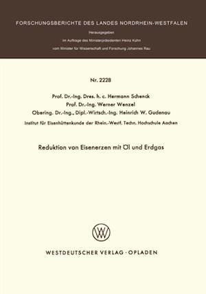 Reduktion von Eisenerzen mit Ol und Erdgas af Hermann Schenck