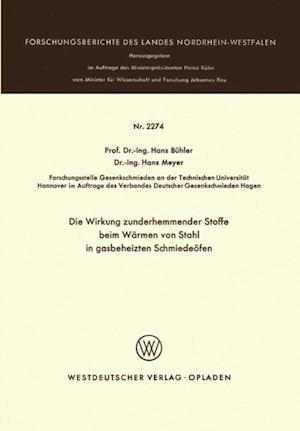 Die Wirkung zunderhemmender Stoffe beim Warmen von Stahl in gasbeheizten Schmiedeofen af Hans Buhler